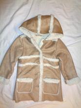Krásný kabát z broušené kůže, 98