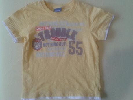 Sytě žluté tričko, cherokee,98