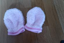 Teploučké rukavičky pro holčičky, 80