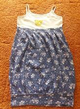 Starší bavlněné šaty/ tunika vel. 152 cm, 152