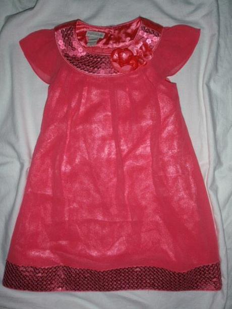 Překrásné slavnostní růžové šaty 594c02ad06
