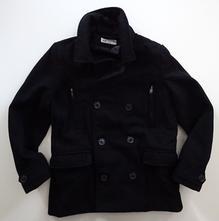 Flaušový kabát s podílem vlny, h&m,140