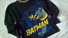 Vel. 140 černé pyžamové triko batman, 140