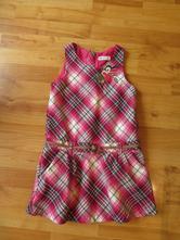 Šaty s ptáčkem, h&m,128