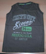 Zelené triko bez rukávů dopo dopo, dopodopo,110