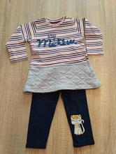Triko-šaty s leginy kik 12-18m, kiki&koko,86
