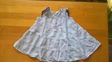 Dívčí rozevláté šaty, h&m,80