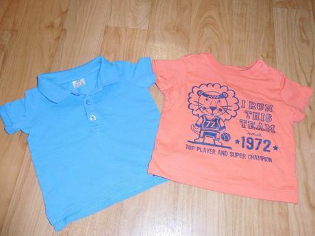 Dl 11 trička 2 ks, c&a,68