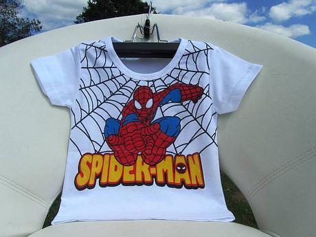 Tričko motiv spiderman, 86