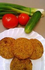 Placky zeleninové s kurkumou