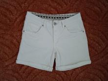 Bílé kraťasy kraťásky šortky, esmara,38