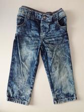 Dětské jeany/džíny značky f&f, unisex, 12-18 m, f&f,80
