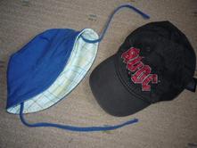 Kšiltovka ac&dc a klobouk vel 68-80, 6-18měs., h&m,68