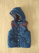 Prošívaná zateplená vesta, lupilu,104