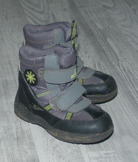 Zimní šedé boty, lupilu,25