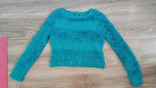 Krátký chlupatkový svetr, m&co,158