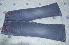 Širší pohodlné džíny, rifle s kamínky, regulací, george,116