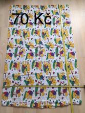 Krepové povlečení, sloni, 90,130