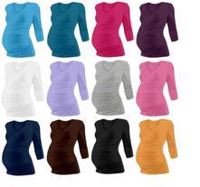 Těhotenské tričko vanda 3/4 rukáv, l / m / s / xl