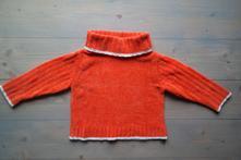 Žinylkový svetr s roláčkem, c&a,92