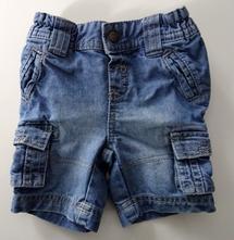 Džínové šortky , c&a,74
