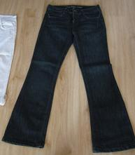 Tmavě modré jeansy, m
