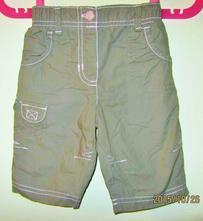 Marks & spencer kalhoty s podšívkou vel 3 měsíce, marks & spencer,62