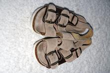 Kožené sandálky, santé,27