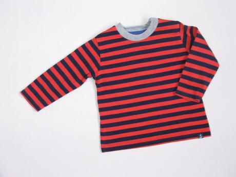 W29 pruhované tričko vel. 68, 68
