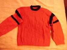 Ručně pletený svetr, l