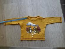 Tričko s dlouhým rukávem, lupilu,68