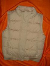 Luxusní zimní prošívaná vesta s volánkama, gap,134