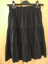 Dívčí černá sukně zn. colours of the world, colours of the world,158