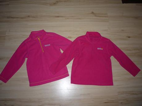 Růžové mikiny třeba pro dvojčata, regatta,116
