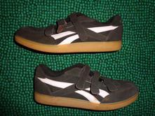 Super hnědorůžové sportovní kožené boty reebok, reebok,39