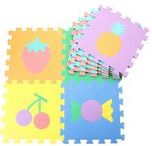 Pěnové puzzle - ovoce 29 x 29 cm - 10 ks,