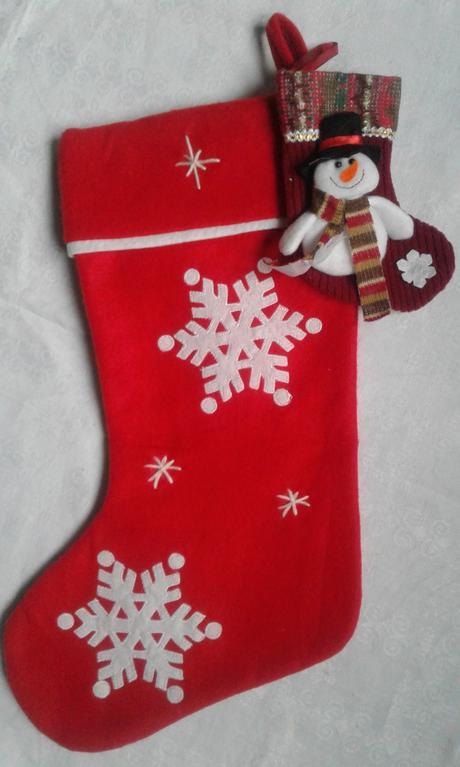 2 ks - nadílková mikulášská ponožka ,