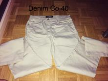 Kalhoty 40, denim,40