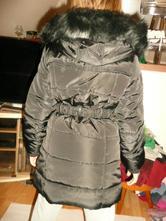 Luxusní zimní bunda s kožíškem vel 9/10 let 134/14, 134 / 140