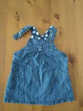 Džínové šaty, baby,74