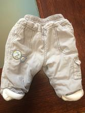 Zateplené kalhoty, okay,68