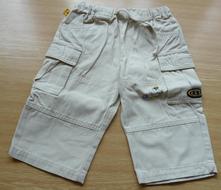 Béžové kalhoty zn. ddp baby, vel. 80, 80