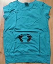 Těhotenské tričko s, s