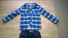 Bavlněná košile, halenka vel. 104, f&f, f&f,104