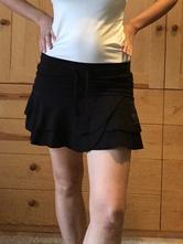 Dámská bavlněná černá sukně, new yorker,m