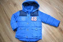 Zimní chlapecká bundička s odepínací kapucí lindex, lindex,98