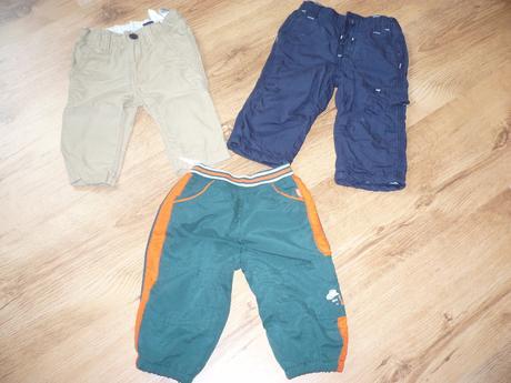 Kalhoty pro chlapečky, vel. 62/68, h&m,62