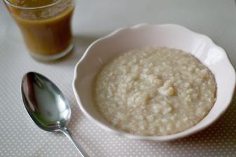 Rýžová kaše se skořicí