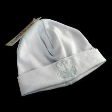 Bavlněná čepice, modrá, 68