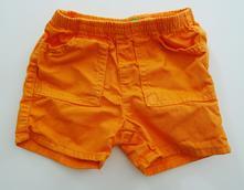 Plátěné šortky, benetton,68